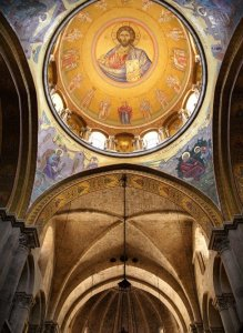 holy sepulchre ceiling art