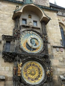 prague old town hall astronomical clock
