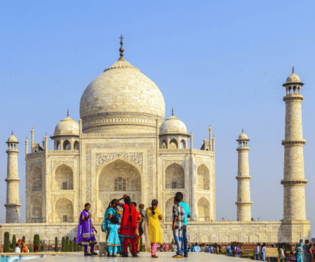 asia tours, india, taj mahal