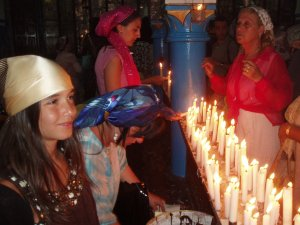 Candle Lighting during Lag B'omer - Jerba
