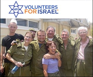 volunteer for israel group photo