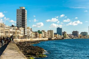 The Malecon Waterfront, Havana